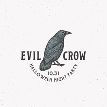Evil Crow Party Vintage Style ...