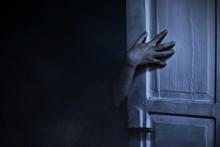Scary Zombie Hand, Halloween Theme