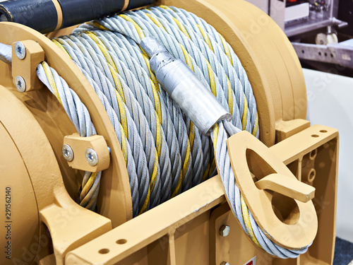 Foto Metal cable winch