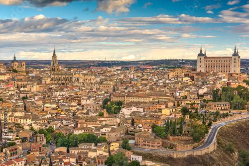 Fotomural  Toledo, Spain old town