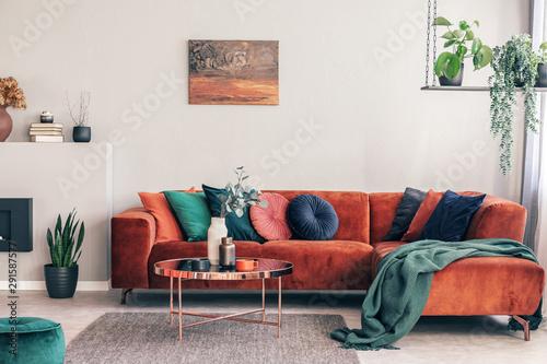 Fototapeta Stylish Round Table With