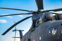 Military Heavy Helicopter, Arm...