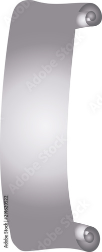 Photo illustration of Luxurious Silver scroll
