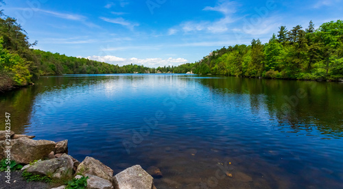 Photo sur Toile New York Lake Minnewaska