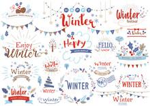 冬のタイトル文字2