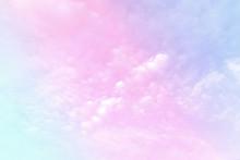 Pastel Gradient Blurred Sky, A...