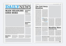 Graphical Layout Newspaper Tem...