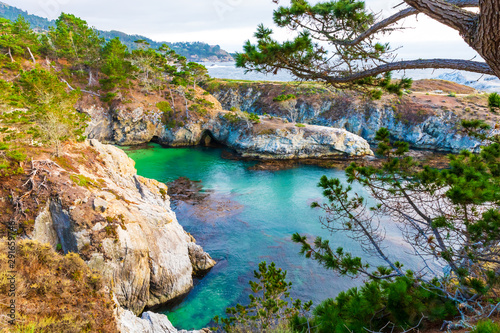 China's Cove in Point Lobos State Nature Reserve in Carmel-By-The-Sea, California