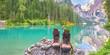 Pause am Bergsee