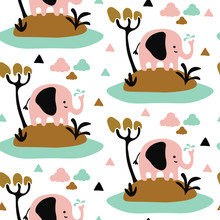 Seamless Repeat Pattern With C...