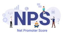 Nps Net Promoter Score Concept...