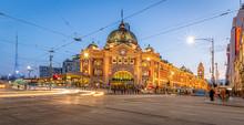 Melbourne Australia Flinders S...