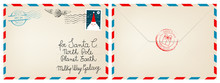 Dear Santa Claus Mail Envelope...