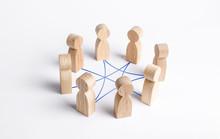 Circle Of People Interconnecte...