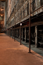 Steel Jail Cell Blocks - Abandoned Ohio State Reformatory Prison - Mansfield, Ohio