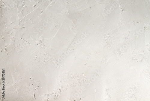 Obraz White whitewash wall background or texture - fototapety do salonu