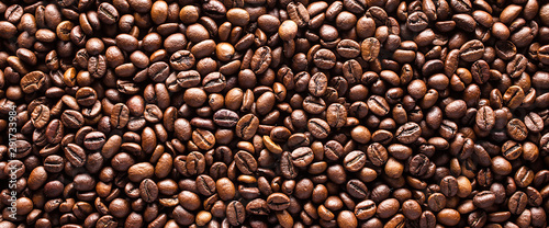 Coffee beans background Fototapete