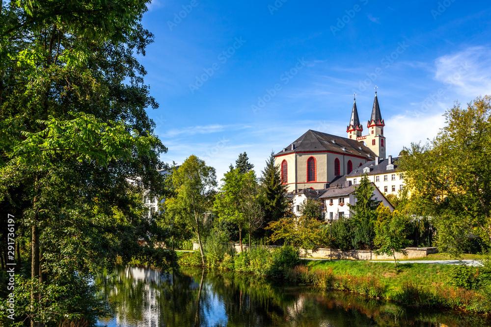 Fototapeta Michaeliskirche, Hof an der Saale, Bayern, Deutschland