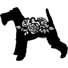 Fox Terrier Silhouette Vector