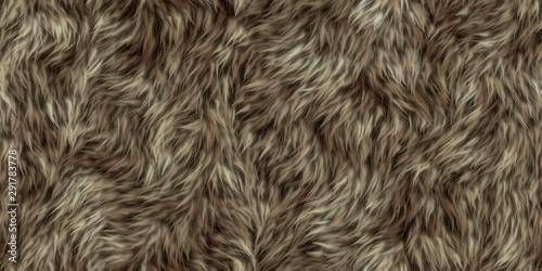 Fotografie, Obraz seamless texture of fur