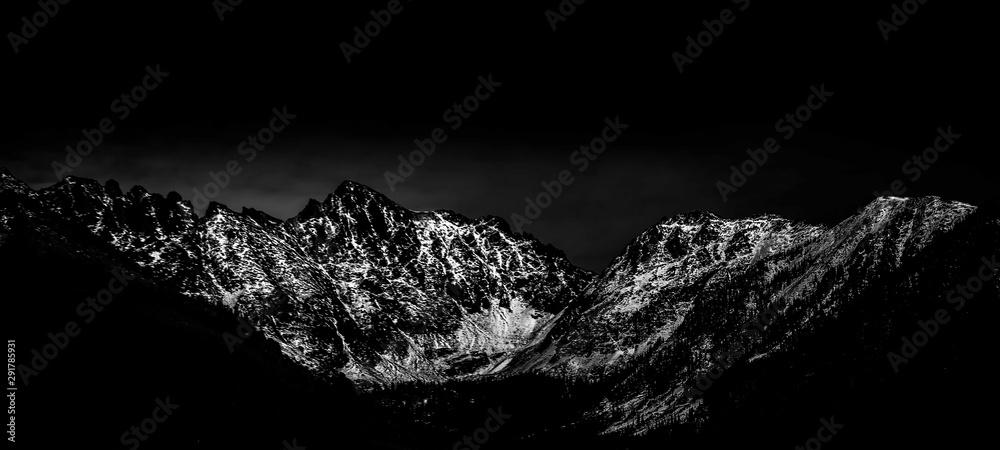 Fototapety, obrazy: Winter mountain landscape