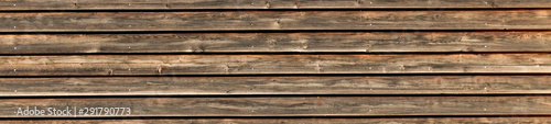 Obraz texture of old wooden wall - fototapety do salonu