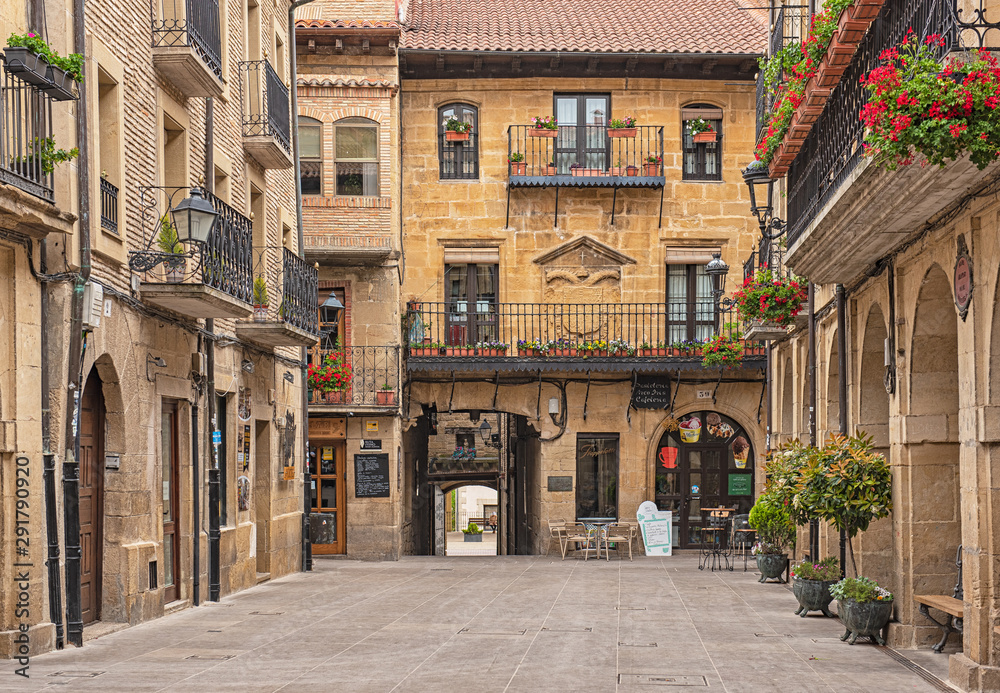 Old town of La Guardia, Spain