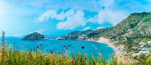 Fotomural Sea view, Maronti beach, Ischia, Italy