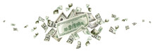 Money Stack. Hundred Dollars O...