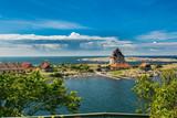 Christianso - duńska malownicza wyspa obok Bornholnu na morzu Bałtyckim