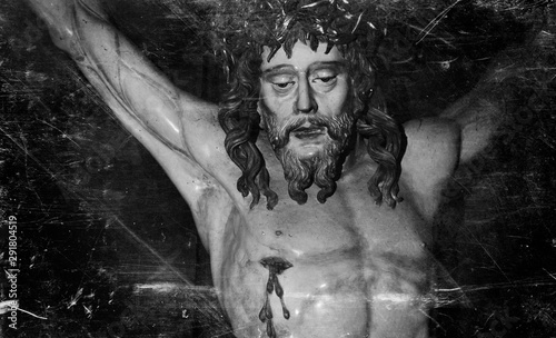 Fototapeta  The crucifixion of Jesus Christ as a symbol of God's love