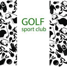 Vector Illustration Of Golf. L...