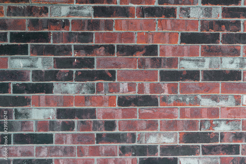 Brown balck and gray brick texture large