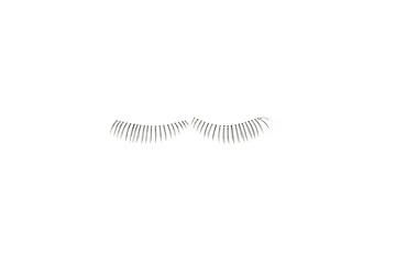 makeup false eye lashes on white background