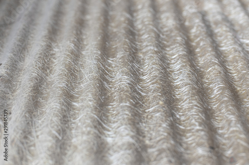 Selective focus of Pattern on  fiberglass roof sheet Wallpaper Mural