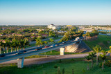 I75 Ramps and I595 East and West Bond at Sunrise in Broward County. US Roads and Highways.