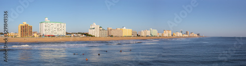 Virginia Beach Skyline Canvas Print