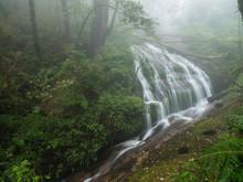 The Waterfall In Kew Mae Pan F...