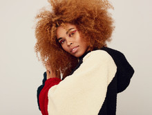 Gorgeous Young Afro Woman Port...