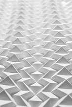 Macro Photo Of Crumpled Or Embossed White Paper. Creative Pattern For Your Layout.