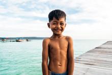 Portrait Of Asian Kid