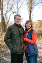 Portrait Of A Mature Couple In...