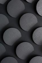 Dark Gray Geometric Background