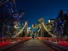 A Bridge Into A Downtown Core ...