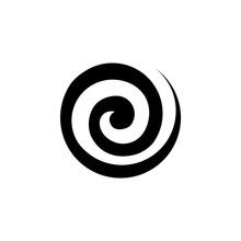 Abstract Circle Spiral Vector ...