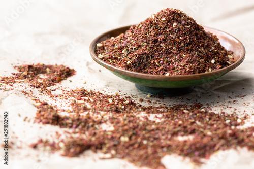Photo Zaatar,  Middle Eastern Spice blend