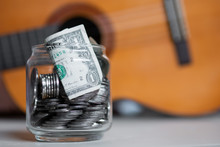 Make Money From Music Careers, Save Money To Buy Guitar