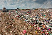 Plastic Pollution Crisis. Landfill In Malaysia