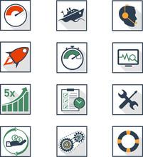 Web Business Icon Set