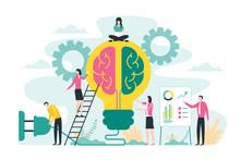 Brainstorming Creative Idea, B...